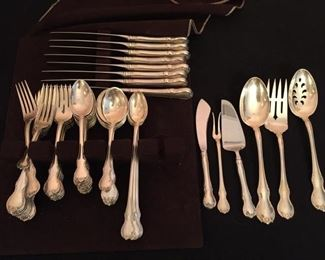 """Towle """"French Provincial"""" Sterling Flatware"""