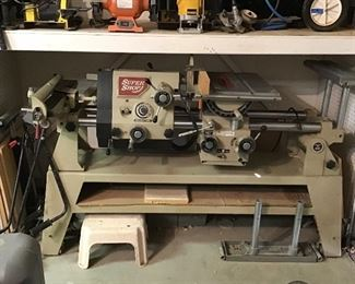 SuperShop Multi-Function Woodworking Machine