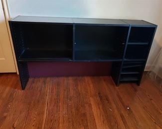 Techline bookshelf for the desk pictured