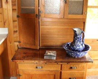 Really Nice old Hoosier Cabinet