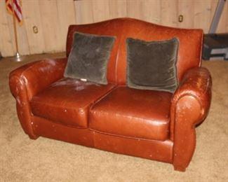leather rec room furniture