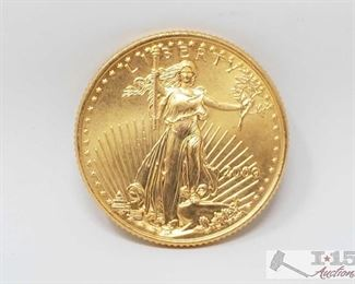 2000 American Eagle 1/4 Ozt. Fine Gold Coin 2000 American Eagle 1/4 Ozt. Fine Gold Coin