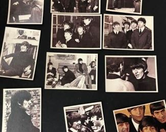 beatles trading cards from hard days night