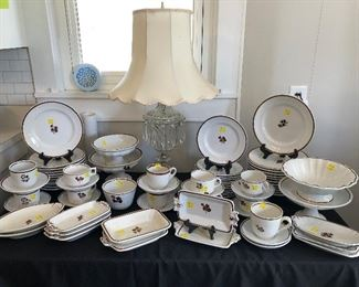 Tea Leaf ironstone plates, compotes, relish dishes, cups and saucers, and more!
