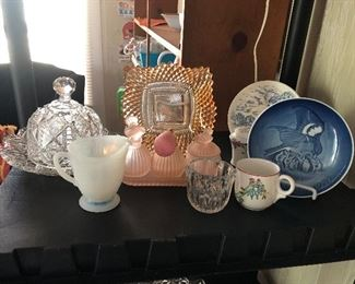 Antique and vintage glassware