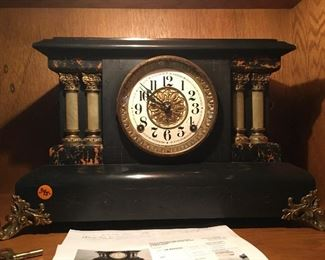 Antique clock, recently professionally refurbished - $350 OBO