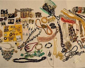 Lots of Fine and Costume Jewelry, Gold Watch,  Watches
