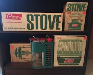 5 Vintage Coleman Pieces in Kmart Box