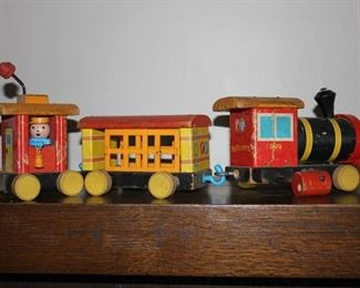 Fisher Price vintage toy train