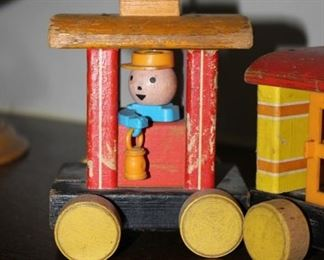 Fisher Price train set of 3.