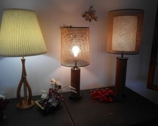 Awesome Mid-Century lamps