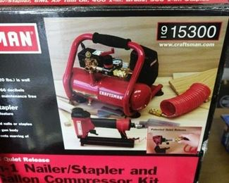 Nailer/ Stapler and Compression kit