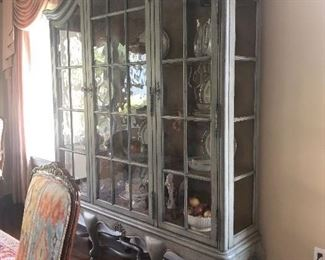 """""""Bordeaux"""" China Cabinet by Century $4800"""