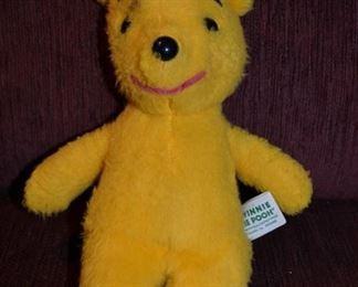 Vintage plush Winnie