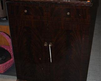 vintage television cabinet