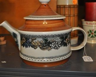 Goebel tea pot