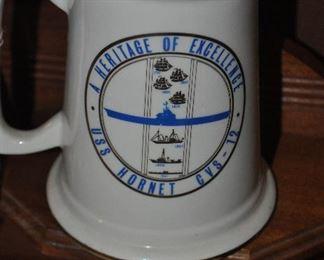 USS Hornet mug