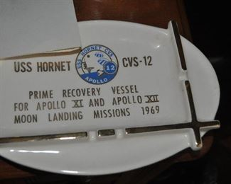 USS Hornet items