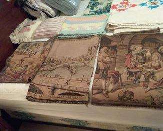 Vtg tapestries