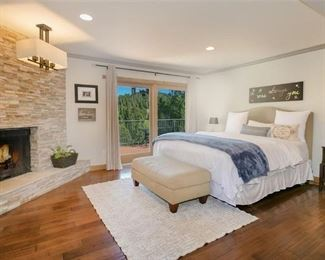 Master Bed and End tables