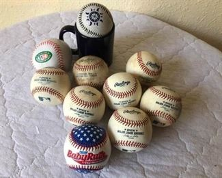 sports official major league baseballs