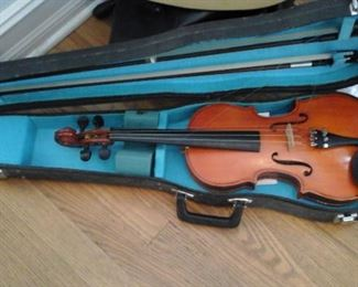 Made in China violin