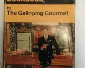 signed Graham Kerr cookbook (1969)