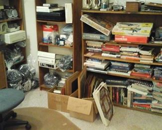 books , model airplanes, and more &*%$# office supplies