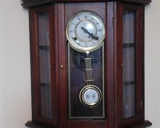 Elgin curio clock (working)