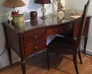 Vintage Sheraton revival desk