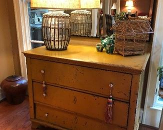 Antique Austro-Hungarian dresser that was brought over from Czechoslovakia  soon after the iron curtain fell.   It was personally picked and shipped over.   This dresser was made in the 1800's when Czechoslovakia was a part of the the  Austria-Hungary Empire (Photos by BC)