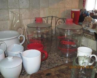 Toms Peanut Jars