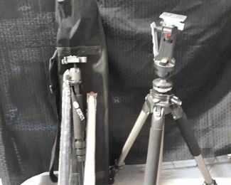 Dynatran professional series tripod and accessories