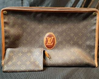 Louis Vuitton bag and clutch