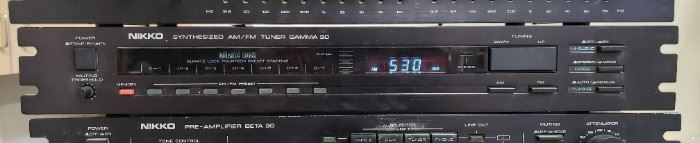 Nikko Gamma 30 Tuner