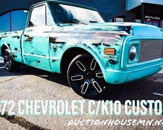 1972 Chevy C/K10 Custom