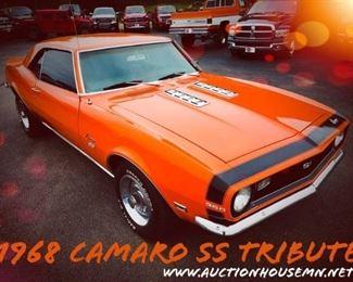 1968 Camaro SS Tribute
