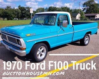 1970 Ford F100 Truck
