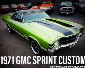 1971 GMC Sprint Custom