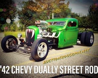 "1942 Chevy Dually Street Rod ""Kreature"""