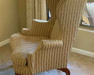 Statesville & Ross Queen Anne Wingback Chair #2	48x32x32in	HxWxD