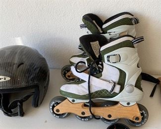K2 inline Skates Eco Maia bamboo Rollerblades