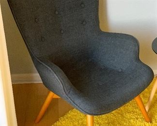Contemporary Contour Chair Grant Featherston  Replica #2	37x27x30in seat: 14inh	HxWxD