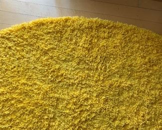 8ft Round Yellow Shag Rug Soho Collection	8ft