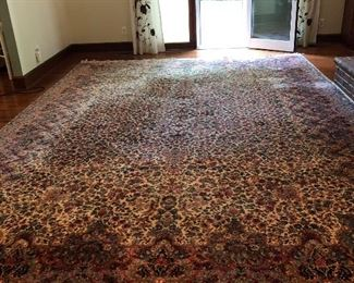 "Large Karastan Rug  11""5 by 16""6 In great condition ."