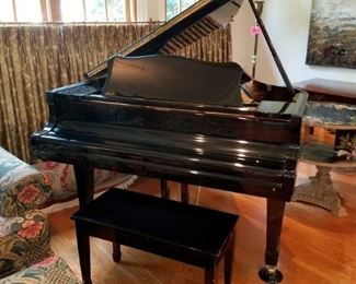 Young and Chang G-150 Baby Grand Piano...available now! Polished ebony finish. Like new. Only $750!!!