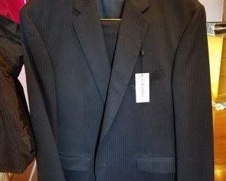 New with tags Calvin Klein suit