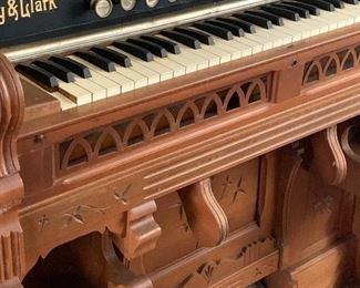 Antique Story & Clark pump organ