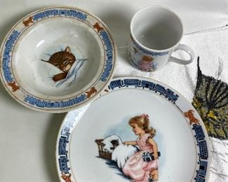 Chessie children's dishes