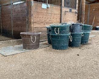 muck buckets and more muck buckets!
